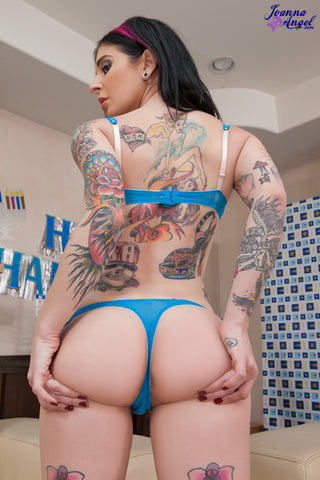 Joanna Angel's worn Thong from Joanna Angel Gangbang