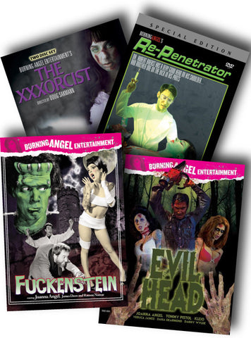 Horror Parody Porn 4 Pack Deal - Autographed