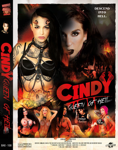 Cindy Queen Of Hell Autographed By Joanna Angel