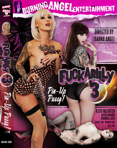 Fuckabilly 3 Pin-up Pussy - Autographed By Kleio Valentien