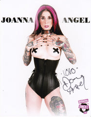 Joanan Angel 8x10 Autographed Dominantly Submissive
