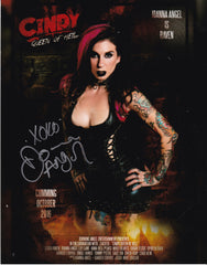 Cindy Queen Of Hell - Joanna Angel Print