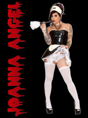Joanna Angel French Maid -18 x24 Poster Autographed- Limited