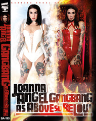 Joanna Angel GangBang As Above So Below AUTOGRAPHED