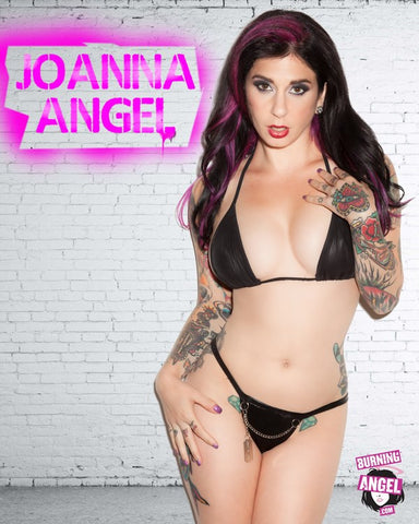Joanna Angel 8x10 - Autographed -Pink Spraypaint