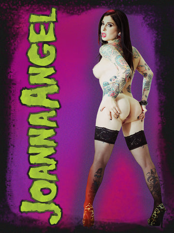 Joanna Angel 18 x24 Poster Autographed- Limited Edition