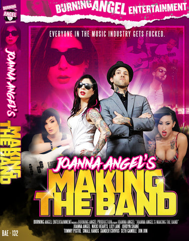 Joanna Angel's Making The Band - Autographed by Joanna Angel