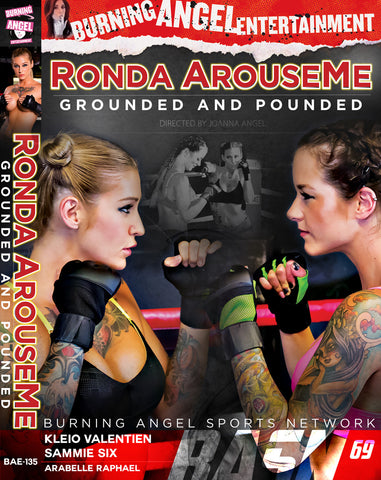 Ronda ArouseMe: Grounded And Pounded -Autographed by Kleio