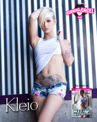 Kleio Autographed 8x10 - Wet Wife Beaters