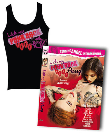 Punk Rock Pussy Dvd and Tank Pack
