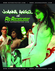 Joanna Angel & Tommy Pistol Re-Penetrator Headshot (Autographed)