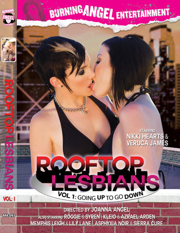 Rooftop Lesbians Vol 1- Autographed By Nikki Hearts