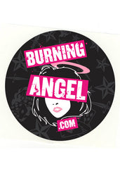 Burning Angel.com New Logo Sticker (20 pack)