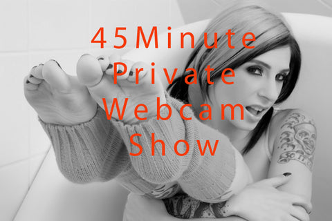 Private WebCam Show - 45 Minutes - Joanna Angel