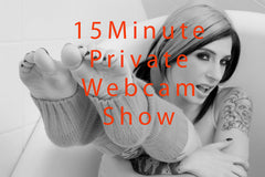Private WebCam Show - 15 Minutes - Joanna Angel