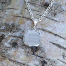 Load image into Gallery viewer, handmade silver fluorite pendant by designer Andrew Thomson