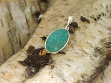 Load image into Gallery viewer, Blue Jasper Silver Pendant