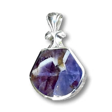 Load image into Gallery viewer, Handmade Amethyst Lace Hallmarked Silver Pendant