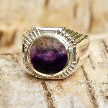 Load image into Gallery viewer, Blue John Signature Mens Ring