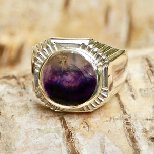 Blue John Signature Mens Ring