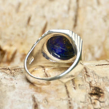 Load image into Gallery viewer, Lapis Lazuli Signature Mens Ring
