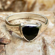 Load image into Gallery viewer, whitby jet ring