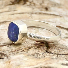Load image into Gallery viewer, lapis lazuli silver ring