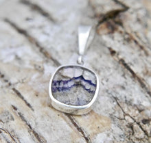 Load image into Gallery viewer, Blue John Rounded Square Pendant