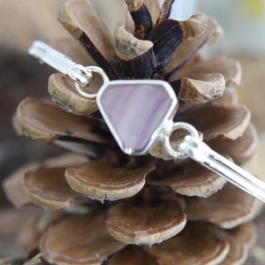 Fluorite Bangle Triangle Design