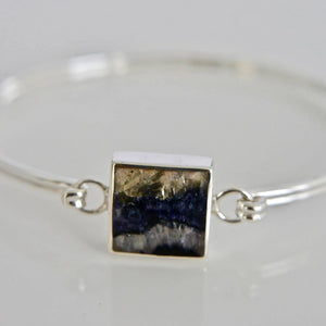 Blue John Bangle Square