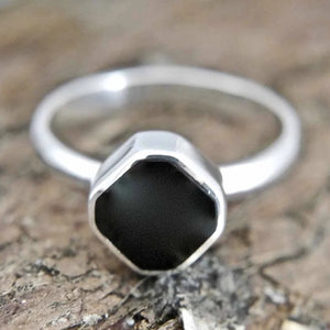 Whitby Jet Ring