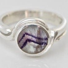 Load image into Gallery viewer, Blue John Womens Silver Ring