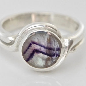 Blue John Womens Silver Ring