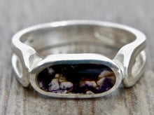 Load image into Gallery viewer, Blue John & Silver Ring