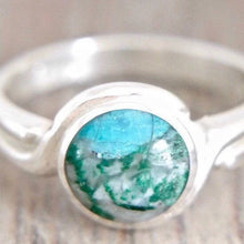 Load image into Gallery viewer, Blue Jasper Silver Ring