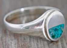 Load image into Gallery viewer, Blue Jasper Gents Silver Ring