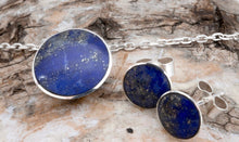 Load image into Gallery viewer, Lapis Lazuli Round Pendant 12mm