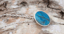Load image into Gallery viewer, Blue Jasper Round Pendant