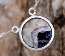 Load image into Gallery viewer, Blue John & Labradorite Double Sided Pendant