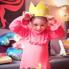 Laden Sie das Bild in den Galerie-Viewer, Birthday Crown | Birthday Child | Mustard yellow