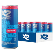 X2 ENDURANCE™ Natural Energy Drink - Fruit Punch