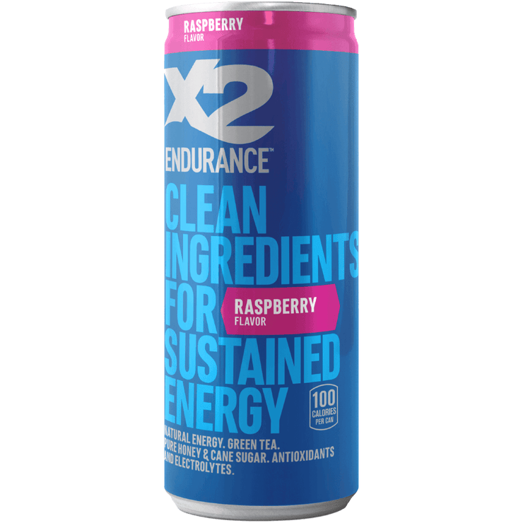 X2 ENDURANCE™ Natural Energy Drink - Raspberry
