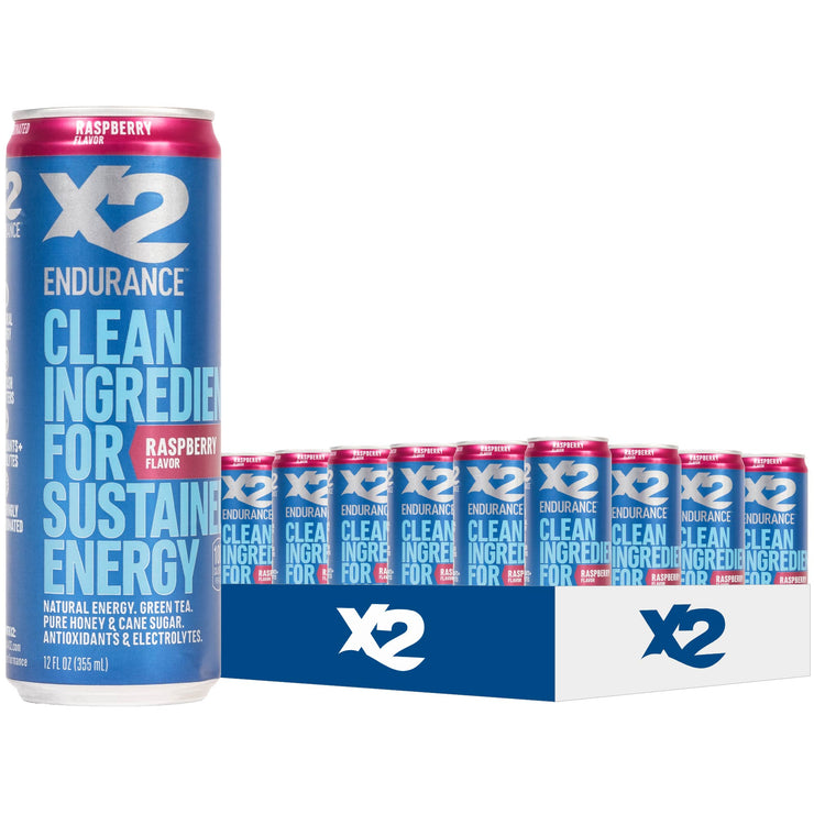 X2 ENDURANCE™ Natural Energy Drink (Team Sales)