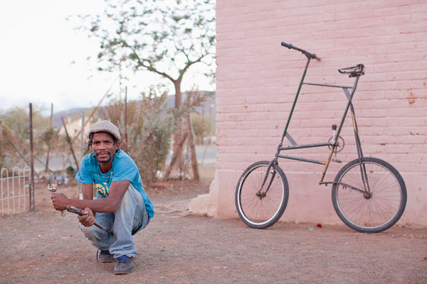 Bicycle Portraits - everyday South Africans & their bicycles
