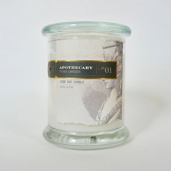 Apothecary Soy Candle French Lavender