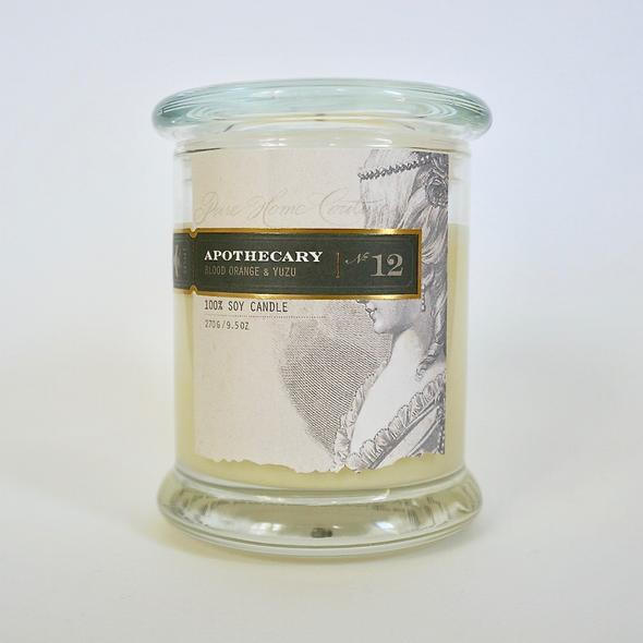 Apothecary Soy Candle Blood Orange and Yuzu