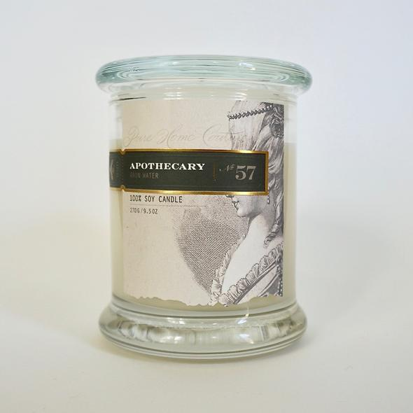 Apothecary Soy Candle Rain Water
