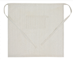 French Ticking Butcher's Apron