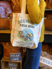 Bee Brand Canvas Totes