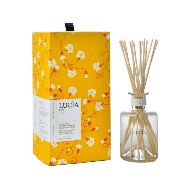 Lucia Reed Diffuser No. 3 Tea Leaf and Honey Flower